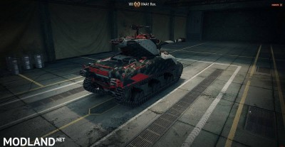 Red Stripes for M4A1 Revalorise 1.4 [1.4.0.1]